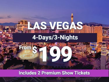 From $199 - Las Vegas - 4 Days/3 Nights