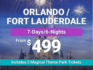 From $499 - Orlando/Ft. Lauderdale - 7 Days/6 Nights